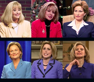 f265e0c0 SNL's many faces of Hillary Clinton: What they say about us ...