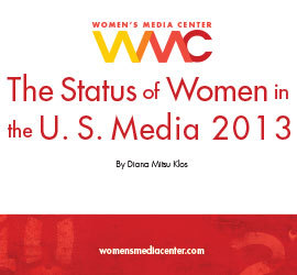 Status Of Women Us Media 2013