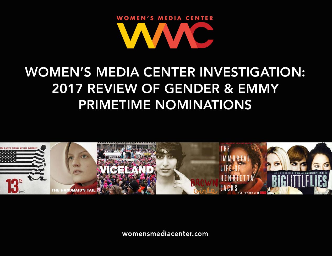 WMC Reports 2017 Emmy Report Cover